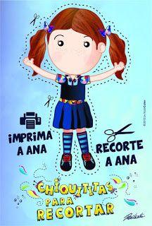 Casinha de Criança: Kit Festa Chiquititas Para Imprimir Grátis