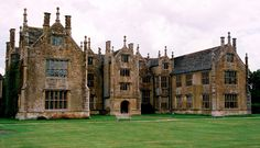 Barrington Court tudor manor house built 1538 to 1550. Somerset (National Trust) UK