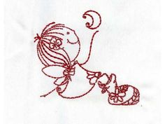 Swirly Fairies Machine Embroidery Designs http://www.designsbysick.com/details/swirlyfairies