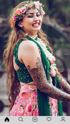All Ethnic Customization with Hand Embroidery & beautiful Zardosi Art by Expert & Experienced Artist That reflect in Blouse , Lehenga & Sarees Designer creativity that will sunshine You & your Party Worldwide Delivery. Bridal Mehndi Dresses, Indian Bridal Outfits, Indian Bridal Fashion, Bridal Looks, Bridal Style, Mehndi Outfit, Bridal Photoshoot, Indian Wedding Photography, Wedding Attire