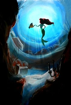 "25 years old Ariel by YohannPolochon.deviantart.com on @deviantART - This year, 2014, is the 25th anniversary of the release of Disney's ""The Little Mermaid"", hence this pic."