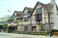Shakespeare's Birthplace - Stratford on Avon, England