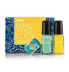 Avon: mark Nail This Look Nail Color and Ring Set - jelenamarshall.avonrepresentative.com #avon #beauty #cute #buy #cosmetics #representative #body #eyes #lips #mark #products #makeup