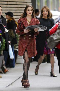 3x11 Treasure of Serena Madre. Nanette Lepore coat and Pour La Victoire 'Petra' Platforms.
