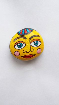 Miniature Art, Painted Rock Art, Quirky Decor, Christmas Gift, Circus Art, Tiny Art, Friendship Gift, Quirky Home Decor, OOAK gift