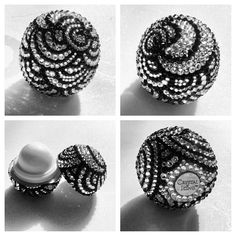 Inspired by zentangles a little EOS lip balm