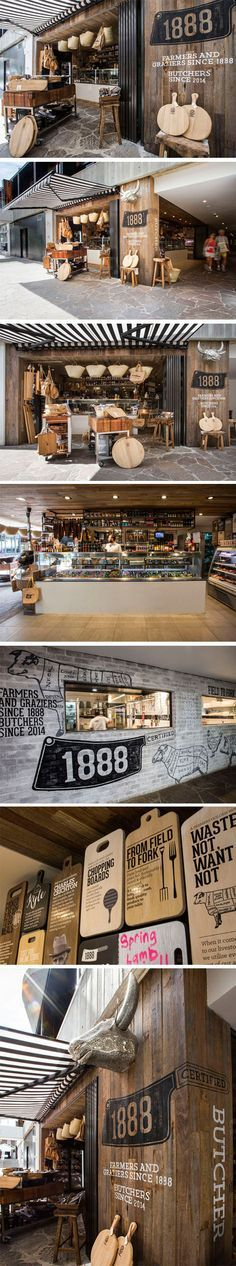 1888 Certified Butcher brands at every touchpoint and creates a customer experience to remember. #Retail #Sydney #Design
