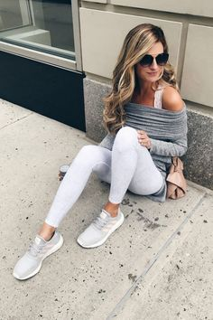 maintain healthy body weight - pinterestingplans in pink and gray adidas sneakers