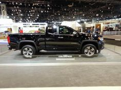 Upcoming 2015 Chevrolet Colorado at the 2014 Chicago Auto Show