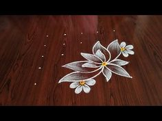 Simple Rangoli Designs Images, Rangoli Designs Flower, Rangoli Designs Diwali, Rangoli Designs With Dots, Kolam Rangoli, Rangoli With Dots, Rangoli Borders, Rangoli Patterns, Free Hand Rangoli Design