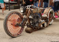 RATROD Bike! Beyond Kustom! Photo by KEVIN LEE MINOR©
