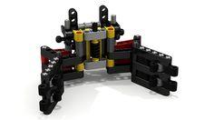 Lego MiniGrabber by FuzzyCow Lego Mindstorms, Lego Technic, First Lego League, Lego Robot, Baby Costumes, Legos, That Way, Robotics, Garra