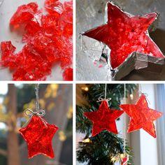 diychristmas candy stars