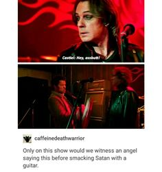 supernatural tumblr textpost castiel cas lucifer satan funny lol season 12