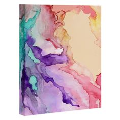 Rosie Brown Color My World Art Canvas | DENY Designs Home Accessories