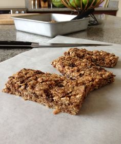 Power Protein Bars (No bake recipe!)