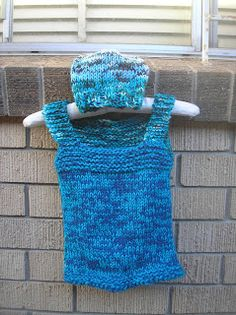 As snug as a bug in a rug: Free pattern - Slip over vest and optional beanie
