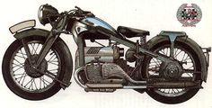 The 1934 Zundapp K800