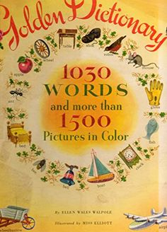 Golden Dictionary 1030 Words & More Than 1500 by Ellen Wales Walpole http://www.amazon.com/dp/B000TXH2B8/ref=cm_sw_r_pi_dp_9aR3ub1V1MY5H  (Where Sharon is a boy and Bruce is a girl--almost now for Mister, er, Mizz Jenner!)