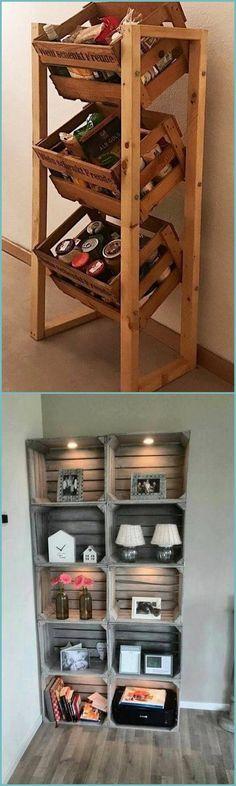 Best Tips For Utilizing Wooden Pallets – DIY Motivations Wooden Pallet Projects, Diy Pallet Furniture, Wooden Pallets, Cool Furniture, Pallet Wood, Wooden Rack, Wooden Diy, Pallet Dog House, Painted Sofa