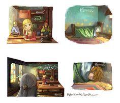 Te entiendo, Link ⋆。˚ (¦3[▓▓]