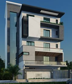 Service Provider of Construction Services in Gurgaon & Office Building Construction Service by M/s Sunrise Construction, New Delhi House Outer Design, Best Modern House Design, Bungalow House Design, House Front Design, Modern Bungalow Exterior, Modern Exterior House Designs, Exterior Design, Stilt House Plans, House On Stilts