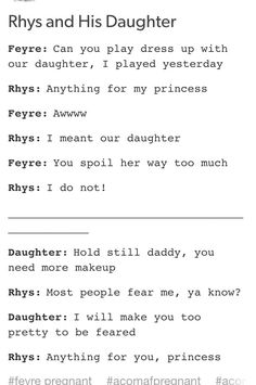 idk what i want more... Rhys to be dad or my bf.... who am i kidding he's my…