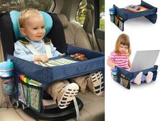 On the Go Play & Snack Kids Tray from Collections Etc.