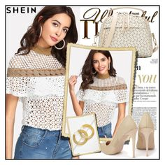"""Shein 6/10"" by sanela1209 ❤ liked on Polyvore"