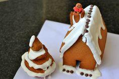 Palavras que enchem a barriga: A nossa casinha de gengibre... E Feliz Natal! :D