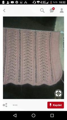 Baby Knitting, Tricot, Needlepoint, Bed Covers, Tejidos, Stitches, Patterns