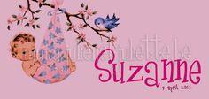 Geboortekaart - Julien et Juliette - Suzanne