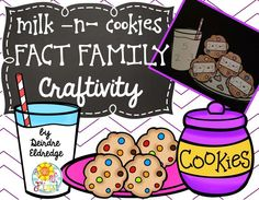 A simple and sweet fact family craft to use anytime of the year! {free}