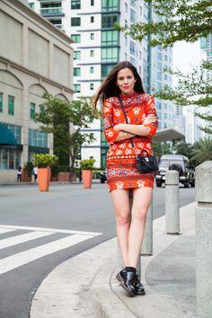 Trends for Spring 2016: here's my oriental look! I'm wearing a red dress by Asos, with black accessories! What do you think?| Una tendenza per la primavera 2016: ecco il mio look orientale! Indosso oggi un abitino rosso da Asos e gli accessori neri! Che ne dite?