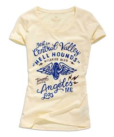 85f454578 Champagne 'Best in Central Valley' Scoop Neck Tee: Hand Typography, Screen  Printing