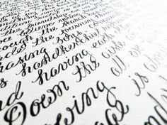 Custom Quote Poem and/or Passage Calligraphy