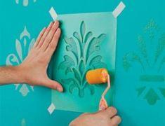 moldes de desenhos para pintar parede 3