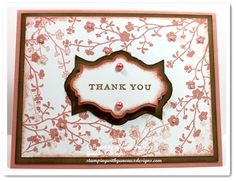 Stampin Up Morning Meadow Hostess Stamp Set