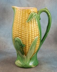 Thinking of fresh corn on the cob, cold potato salad, ice tea in this beautiful pitcher, aroma of Magnolia Trees, the flowing of a creek, laughter from family and friends, just me, daydreaming again.