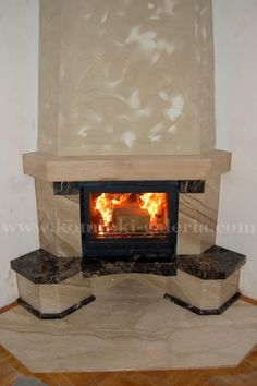 Fireplace Console, Home Appliances, Home Decor, Log Fires, Fire, Log Projects, Home, Ideas, Brick Fireplaces