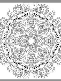 24 More Free Printable Adult Coloring Pages