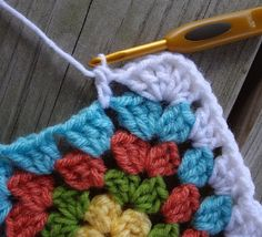 Ever wonder how to get those decorative holes in your crochet blanket patterns? This Crochet Chain Space Tutorial will teach you how to achieve that lovely look.