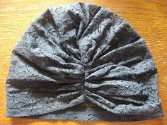 A lace turban