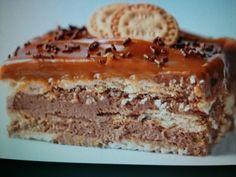 Marquesa de Chocolate :http://www.recetasjudias.com/marquesa-de-chocolate/