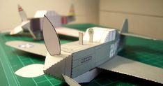 Papertoys Pearl Harbor Trilogy   Paper-Toy.fr