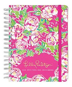 love this 2014-2015 Lilly Pulitzer agenda http://rstyle.me/~2snN2
