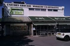 Unicorn Grocery in Chorlton, selling organic and healthy foods