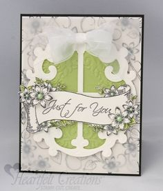 Heartfelt Creations | Just For You Window Card