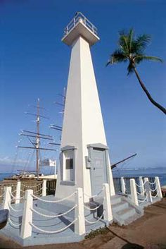 Lahaina LighthouseLahaina Harboron the western end of Mauistate of Hawaii.US20.872190, -156.678690