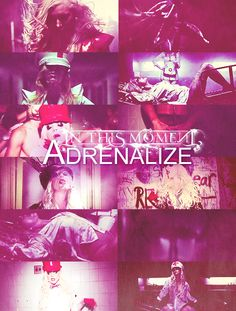 In This Moment: Adrenalize music video. This song is soooo weird and awesome at the same time.